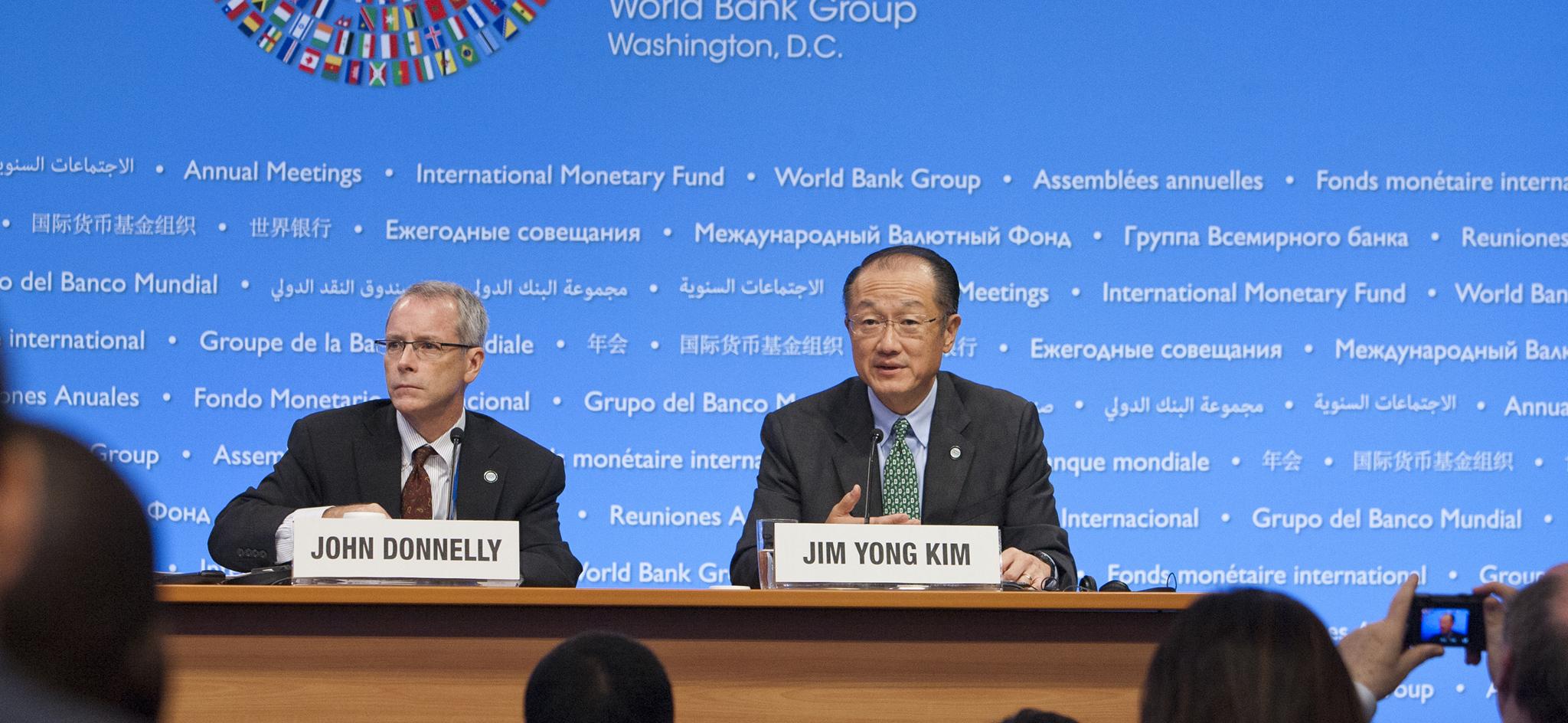 Conférence de presse de Jim Yong Kim