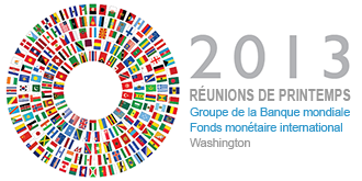 Réunions de printemps 2013 : programme des événements Banque mondiale Live