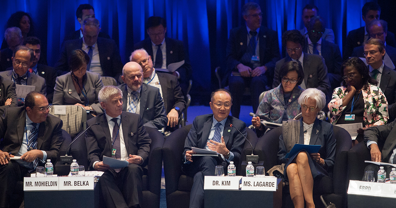 Comunicado del Comité para el Desarrollo al terminar las Reuniones de Primavera 2015