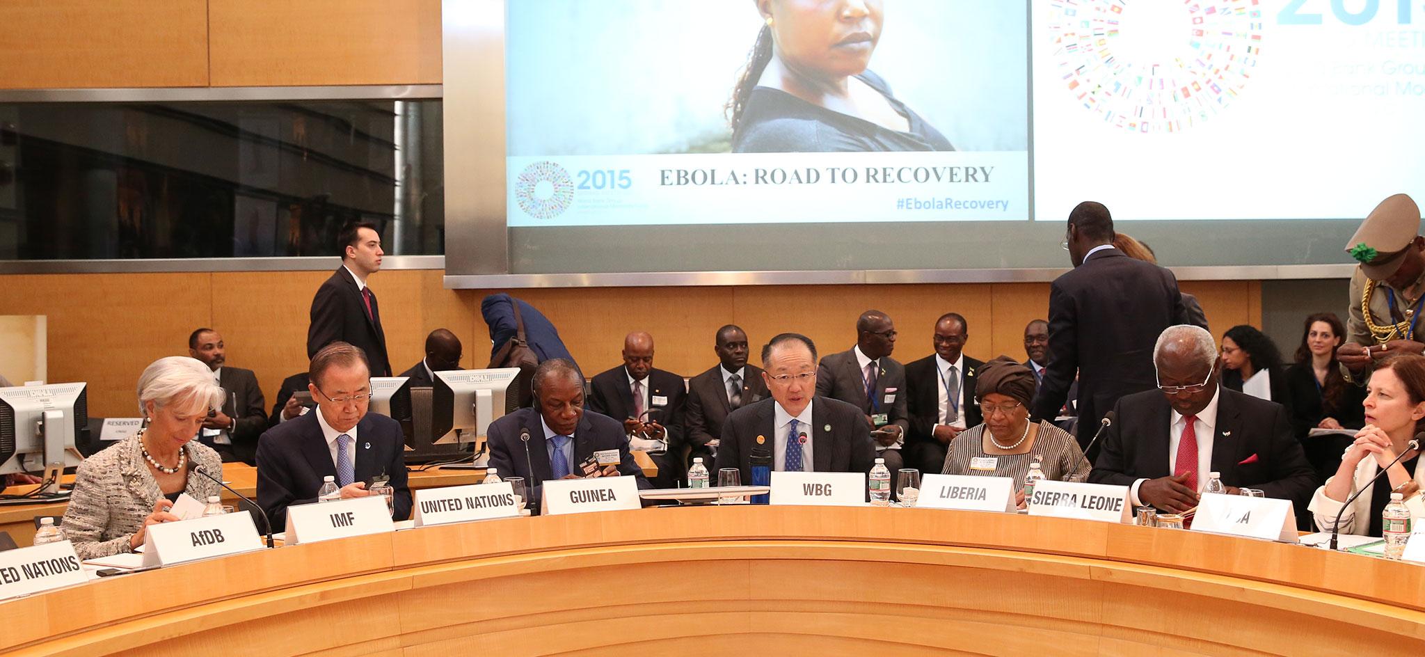 Ebola : sur la voie du redressement